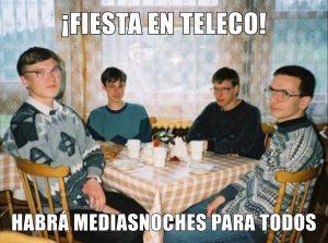 Fiesta en teleco