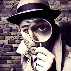 detective con lupa