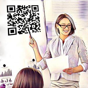 Ejemplo código QR descargar documentación adicional