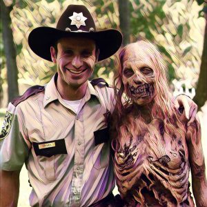 Zombi, personaje Walking Dead