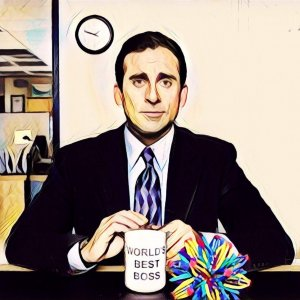 the office. el peor jefe del mundo