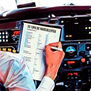 piloto-avion-haciendo-checklist-narcolpesia