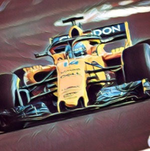 coche formula 1 de fernando alonso