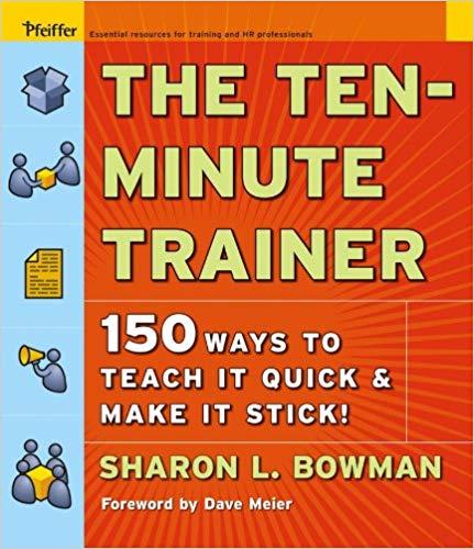 libro-formacion-The-Ten-Minute-Trainer